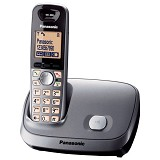PANASONIC Cordless Phone [KX-TG6511] - Silver - Wireless Phone